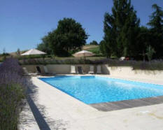 private heated pool dordogne